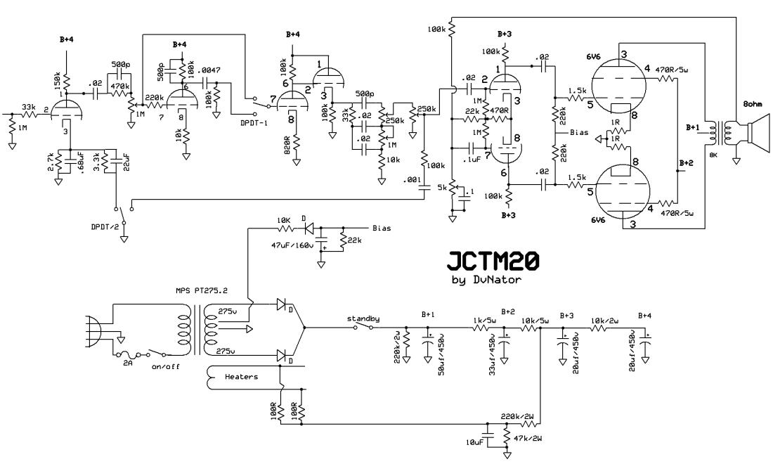 jctm20 dvnator 39 s amp projects. Black Bedroom Furniture Sets. Home Design Ideas