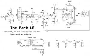park le with el84s dvnator 39 s amp projects. Black Bedroom Furniture Sets. Home Design Ideas